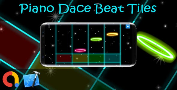 Piano Dance Beat Tiles - iOS Xcode 10 + Admob