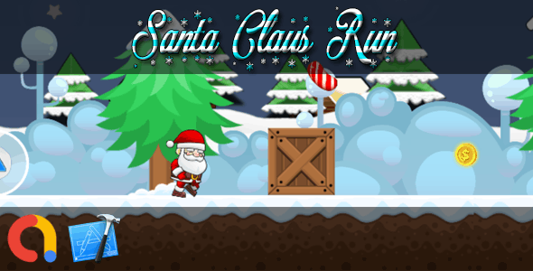 SANTA CLAUS RUN - iOS Xcode 10 + Admob