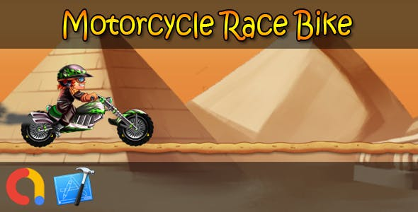 Motorcycle Race Bike - iOS Xcode 10 + Admob