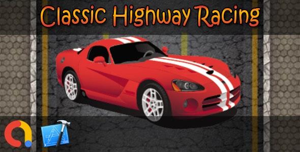 Classic Highway Racing - iOS Xcode 10 + Admob - CodeCanyon Item for Sale