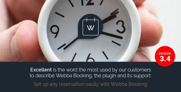 Webba Booking - WordPress Appointment & Reservation plugin - CodeCanyon Item for Sale