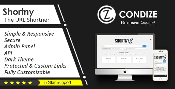 Shortny - The URL Shortener