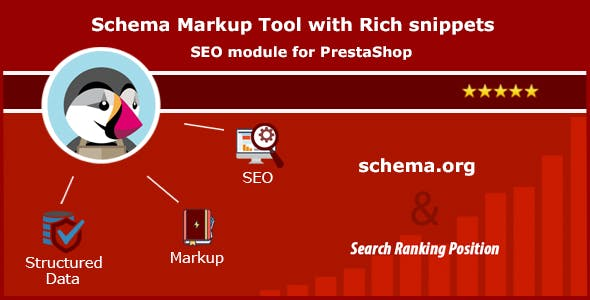 Schema Markup Tool with Rich snippets. SEO module for PrestaShop