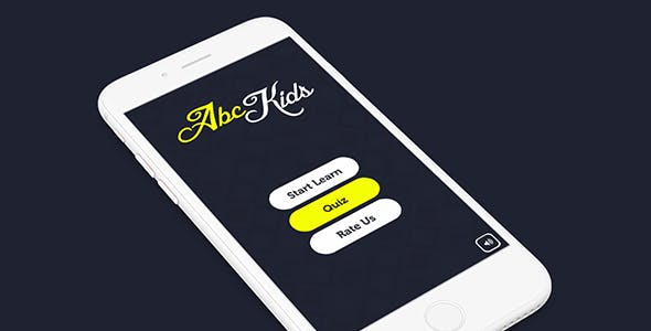 ABC KIDS WITH ADMOB - IOS XCODE FILE