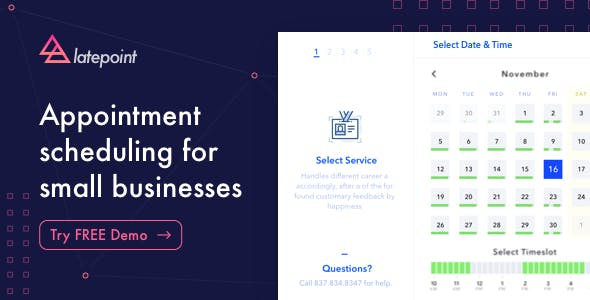 Reservation Plugin Plugins, Code & Scripts from CodeCanyon