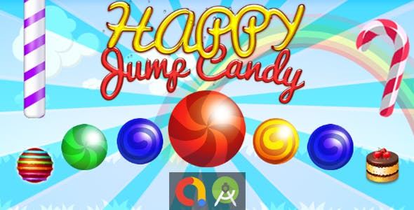 Sweet Candy Jump (Android Studio + Admob + GDPR Support + API 27 + Eclipse)