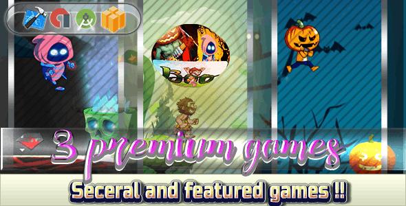 Super Mega Bundle 2018 - 3 Games - Android - CodeCanyon Item for Sale