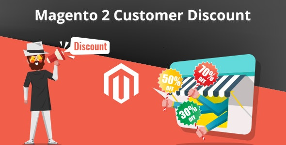 Magento 2 Customer Discount - CodeCanyon Item for Sale