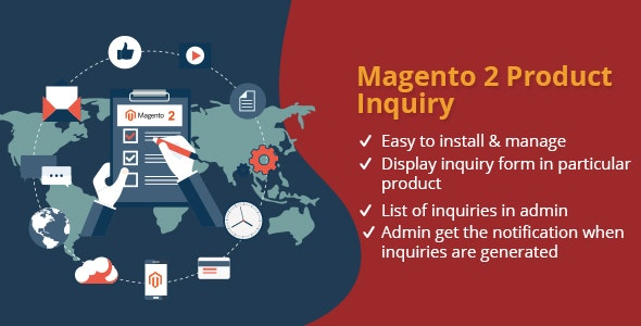 Product Inquiry Magento 2 Extension - CodeCanyon Item for Sale