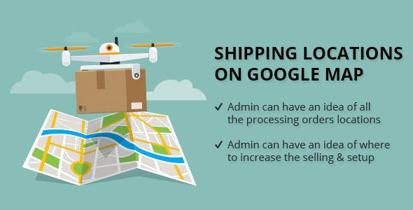 Shipping Locations On Google Map