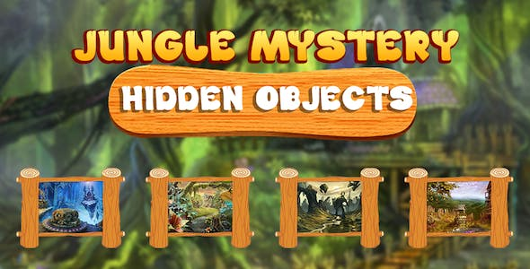 Mysteries Forest Garden Adventure Hidden Objects + Android Studio Game (Chartboost + Admob + Applov