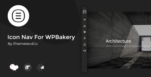 Icon Nav For WPBakery Page Builder (Visual Composer) - CodeCanyon Item for Sale
