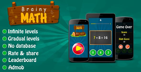 Brainy Math - Android Game