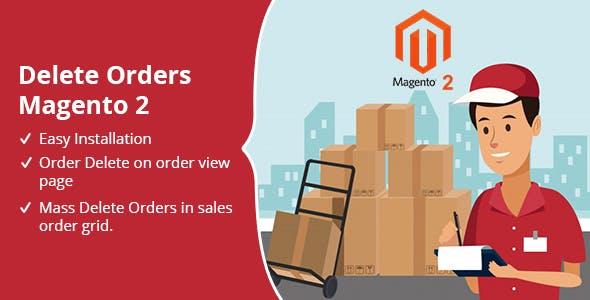 Delete Orders Magento 2