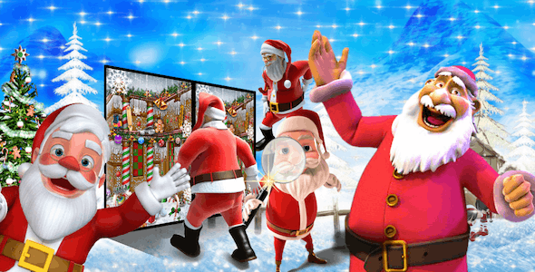 Christmas Spot It : Find The Differences Android Studio Game (Chartboost + Admob + Applovin)