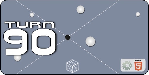Turn90 - HTML5 Casual Game (+ mobile version) - CodeCanyon Item for Sale