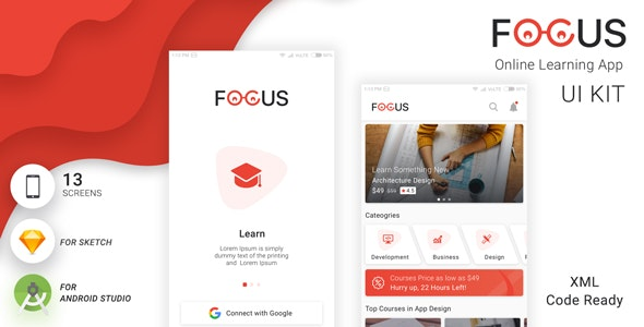 Focus UI KIT - CodeCanyon Item for Sale