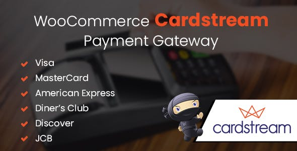 WooCommerce Cardstream Payment Gateway