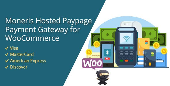 Moneris Hosted Paypage Payment Gateway WooCommerce Plugin
