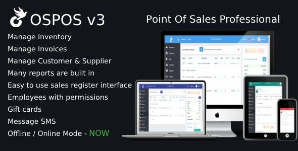 OSPOS Professional (online & offline)