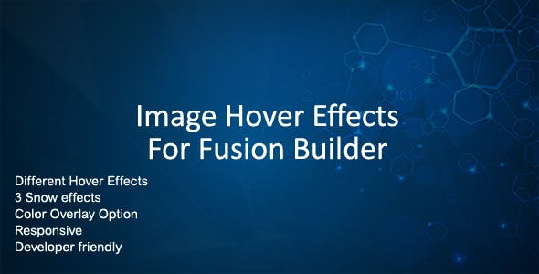 Image Hover Effects for Fusion Builder and Avada
