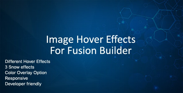 Image Hover Effects for Fusion Builder by jag_themes | CodeCanyon