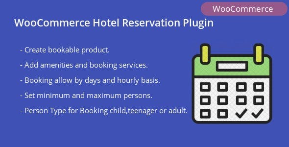 WooCommerce Hotel Reservation Plugin