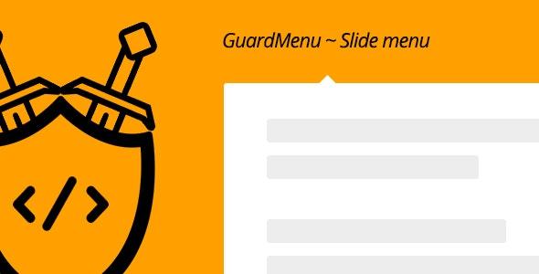 guardMenu ~ Slide menu - CodeCanyon Item for Sale