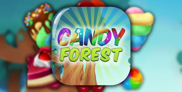 Candy Forest - match 3. html5