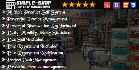 Shop Management System - CodeCanyon Item for Sale