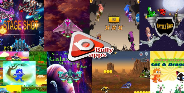 All 7 games ,  Ready For Publish +  (Eclipse - Admob)