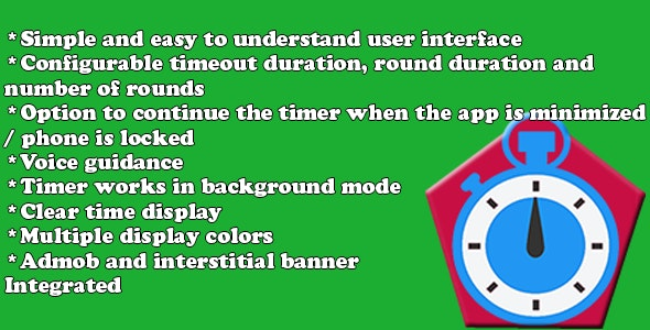 Exercise Duration App - CodeCanyon Item for Sale