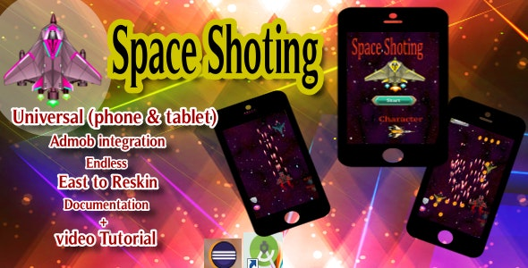 space game (Eclipse - Admob) - CodeCanyon Item for Sale