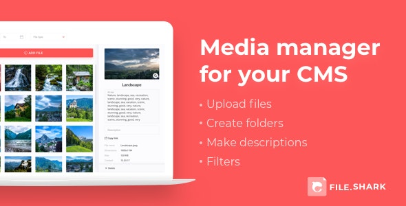 Media Manager - CodeCanyon Item for Sale