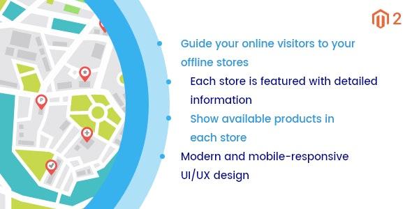 Magento 2 Store Locator - CodeCanyon Item for Sale
