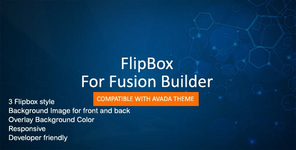 Flip Box for Fusion Builder