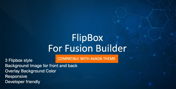 Flip Box for Fusion Builder - CodeCanyon Item for Sale