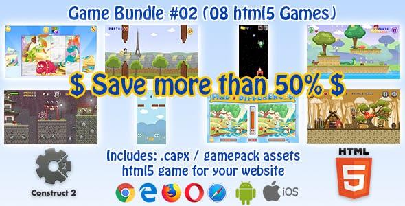HTML5 Game Bundle #02 (jmneto) - 08 Construct 2 HTML5 Games