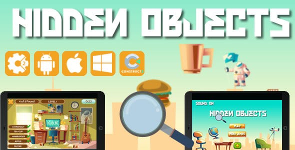 Hidden Object - Html5 Game (CAPX)