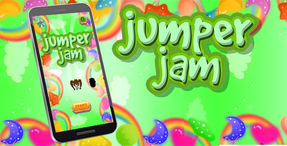 Jumper Jam Android iOS Buildbox with Custom Ads