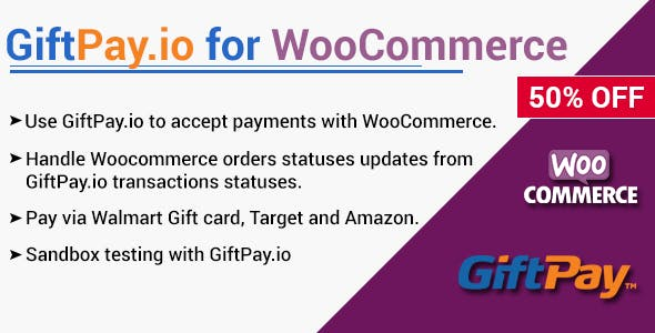 GiftPay.io Payment Gateway for WooCommerce