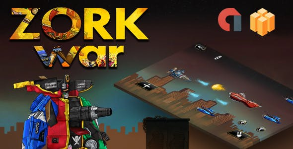 ZORK war! ☝ (Buildbox, Android, IOS & more) Ready to publish!