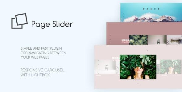 Page Slider Responsive Javascript Plugin - CodeCanyon Item for Sale