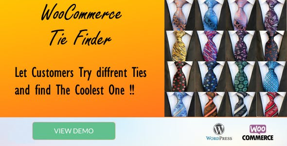 "Tie Finder ""WooCommerce plugin"""