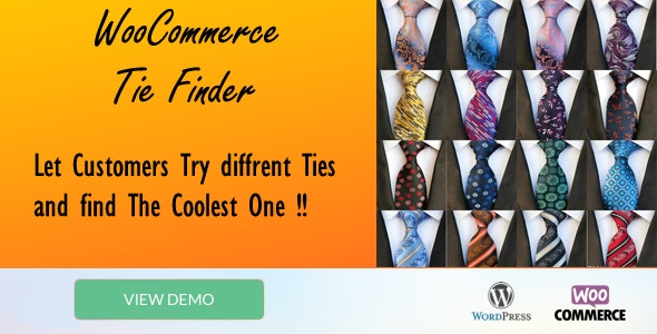 "Tie Finder ""WooCommerce plugin"" - CodeCanyon Item for Sale"