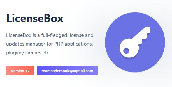 LicenseBox | PHP License and Updates Manager