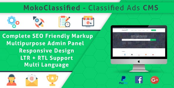 MokoClassified | Advanced Buy/Sell Classified Ads CMS Script