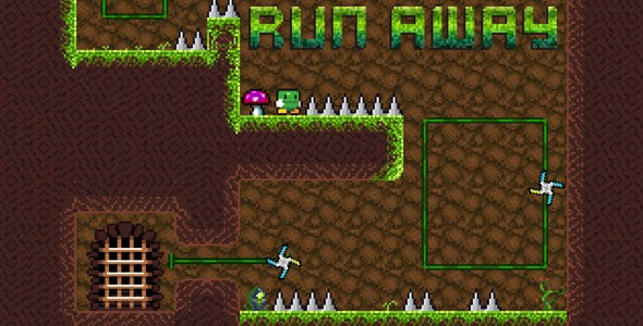 Run Away - Platformer Game