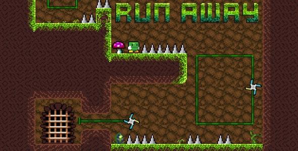 Run Away - Platformer Game - CodeCanyon Item for Sale