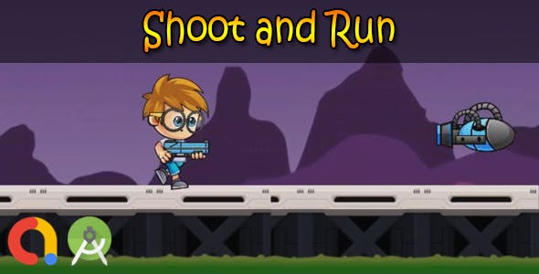 Shoot and Run (Android Studio + Admob + GDPR Support + API 27 + Eclipse)
